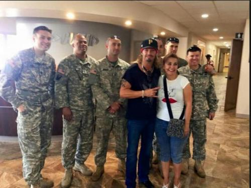 Military Support - Meet and Greet with Troops