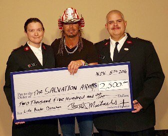 Community - Donation to the Salvation Army
